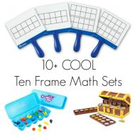 10+ Ten Frame Math Sets for Kids