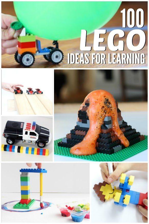 100 Lego Learning Ideas