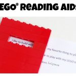 Easy LEGO Reading Aids for Kids - Great for encouraging reluctant readers!