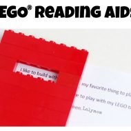 LEGO Reading Aids