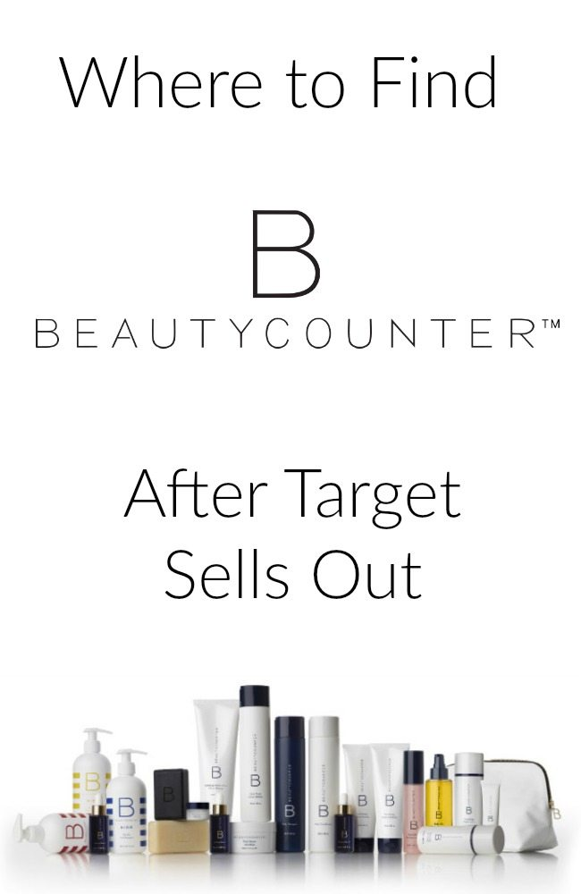 Where to find BeautyCounter after it sells out at Target. It is FLYING off the shelves- a whole line of heavenly hair, skin and body products that are free from harmful chemicals. If you can't find it at Target, get it here!