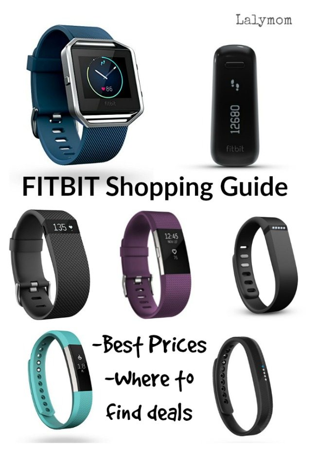 Fitbit Buyers Guide- where to buy fitbit on sale and historical best fitbit prices