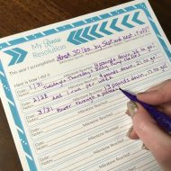 Free Goal Setting Printable – Perfect For Your New Year Resolution
