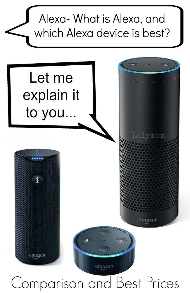 What is Alexa and Which Alexa Device is Best? Compare the Amazon Echo, Amazon Dot and Amazon Tap with best prices.