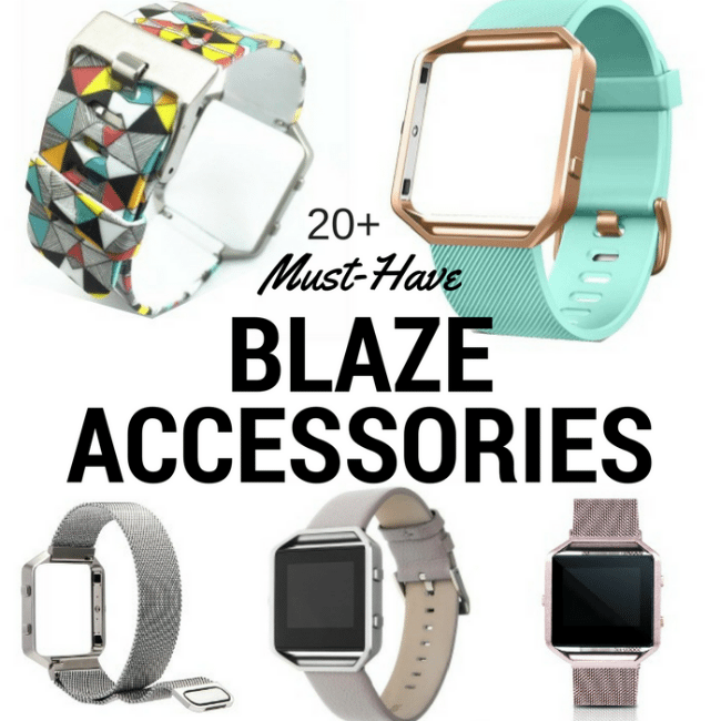 20+ Awesome Fitbit Blaze Bands and Accessories - Perfect gift ideas for any Fitbit Fanatic!