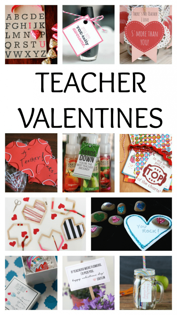 20 sweet and simple teacher valentines