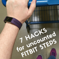 7 Hacks for Uncounted Fitbit Steps When Pushing a Stroller, Cart and More