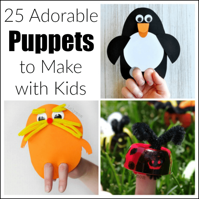 20+ awesome hand puppets to make with kids
