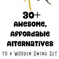 30+ Metal Swing Sets and Other Alternatives to the Big Wooden Swing Set