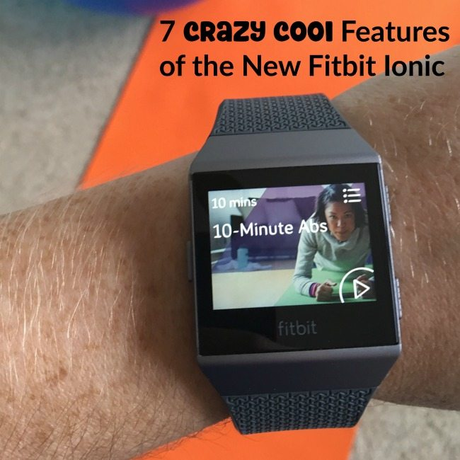 7 Crazy Cool Features of the New Fitbit Ionic