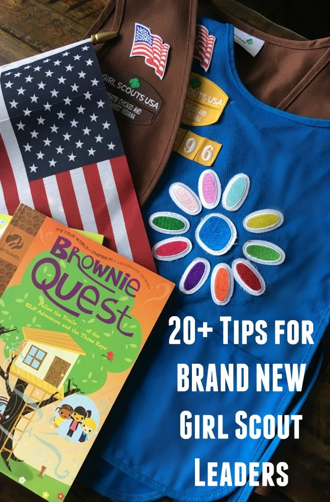 Over 20 Tips for New Girl Scout Leaders - Perfect for new Brownie or Daisy troop leaders