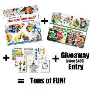 lego book christmas bonus