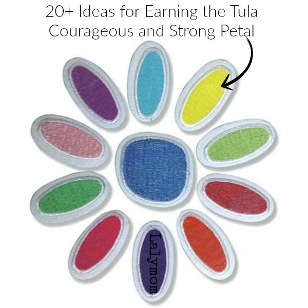 20+ Daisy Girl Scout Ideas for earning the Tula Petal