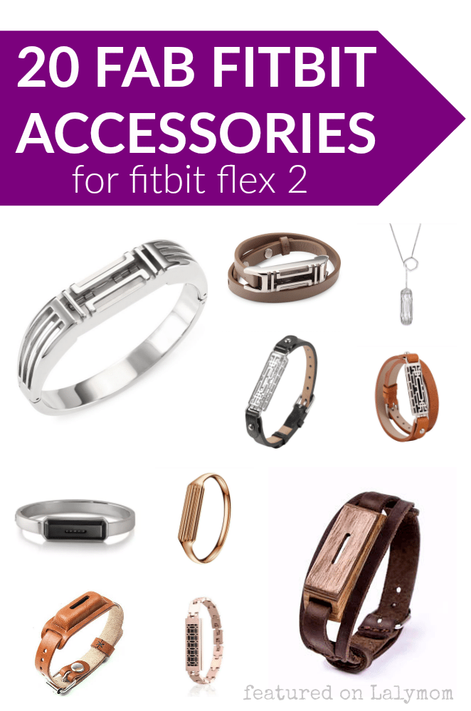 20 Fab Fitbit Flex 2 Accessories - Bangles, leather bands, pendants, slides and sleeves to dress up your fitbit!