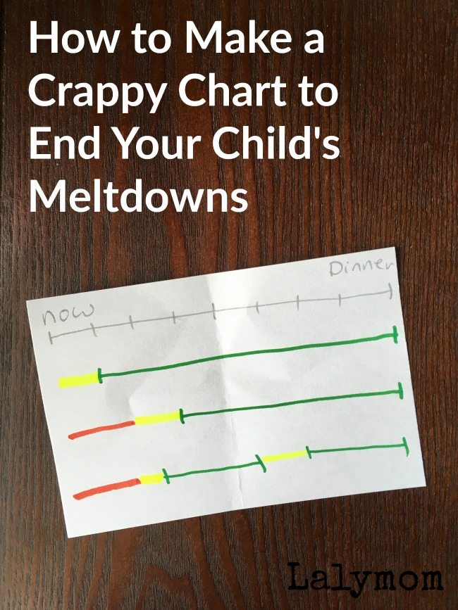 How to Make a Crappy, Hand-Drawn Chart to End Your Child's Meltdowns