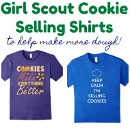 20+ Super Cute Girl Scout Cookie Selling Shirts