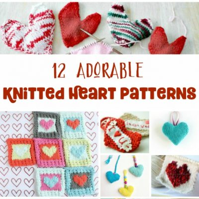 12 Super Cute Knit Hearts