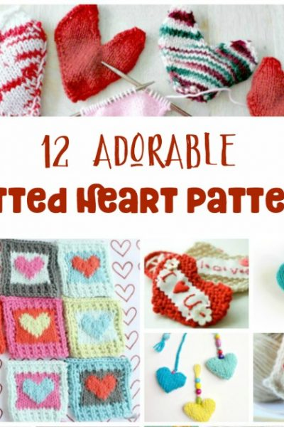 12 Gorgeous Heart Knitting Patterns