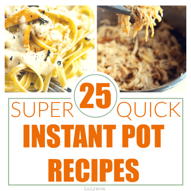 25 Fast, Easy Instant Pot Recipes