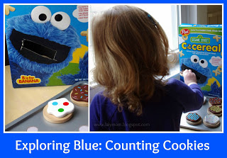 Cookie Counting and Sharing Game for Preschoolers and Toddlers from Lalymom