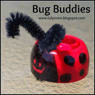 Spring Crafts for Kids: Ladybug Finger Puppet
