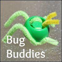 Upcycled Grasshopper Finger Puppet