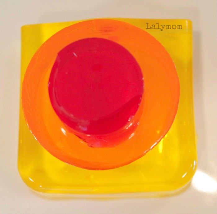 Kandinsky for Kids with Jello Art from Lalymom.com