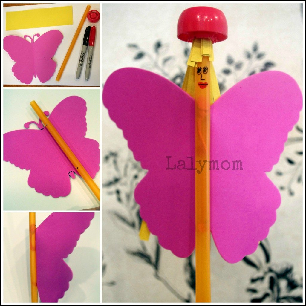 Fairy Wand Craft for Kids from Lalymom