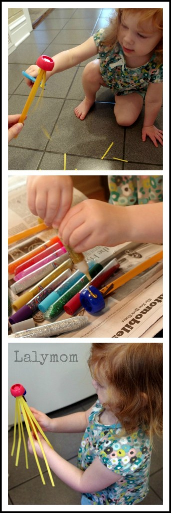Fine Motor Skills with Princess Wands by Lalymom