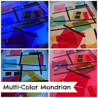 monrdrian for kids color loght box