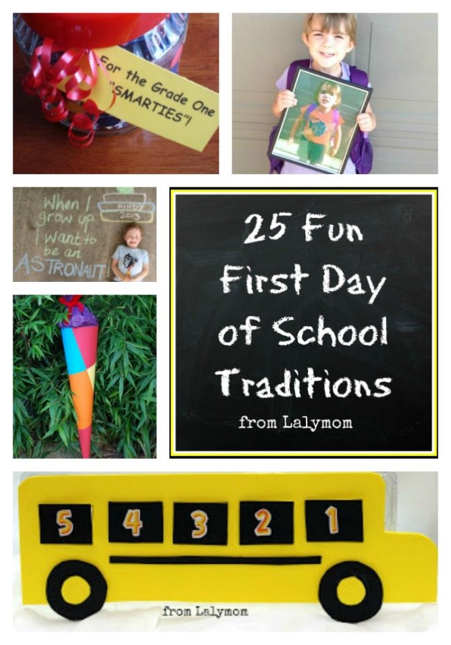 25+ Fun First Day of School Traditions