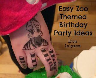 20+ Zoo Birthday Party Ideas - Simple, low-prep ideas for a zoo themed birthday party. #zoo #birthday #party #decor #partysupplies #partyfavors #birthdaycake #kidsparty