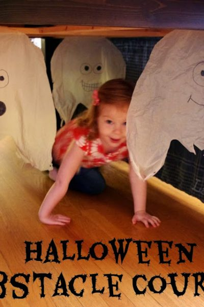 Best Kids Activities from 2013 from Lalymom: Halloween Obstacle Course