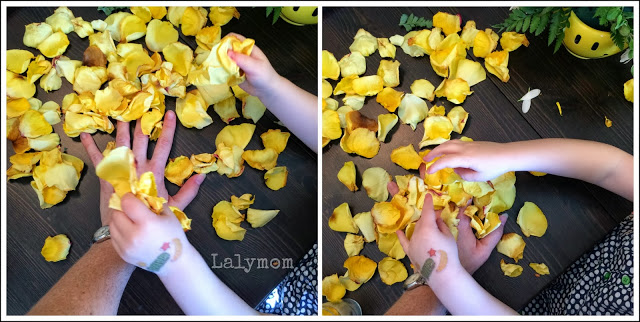 Petal Dump: 10 Fine Motor Finger and Hand Activities Using Flowers from Lalymom