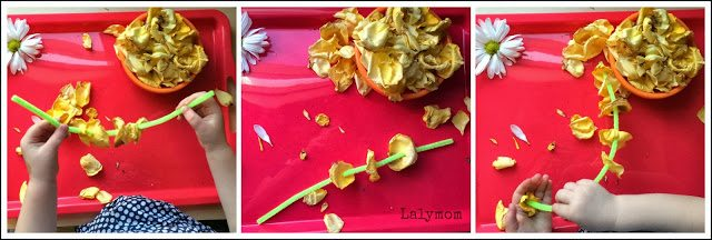 Lacing and Threading Practice for Kids: 10 Fresh Flower Fine Motor Activities from Lalymom