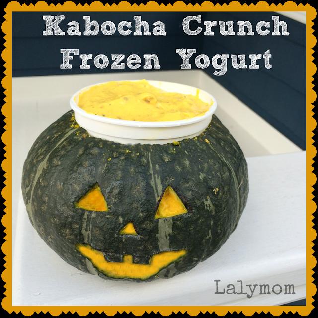 Kabocha Squash Frozen Yogurt Halloween Recipe #MyMarianos #cbias #shop