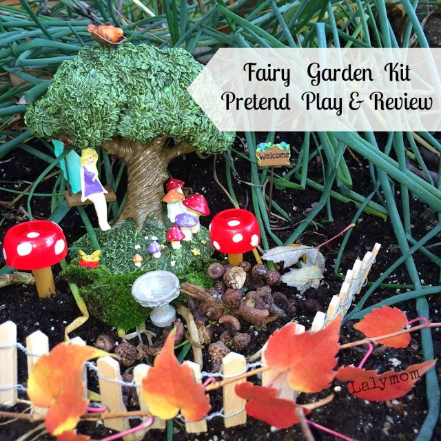 Fairy Garden Kit Pretend Play and Review #Sponsored