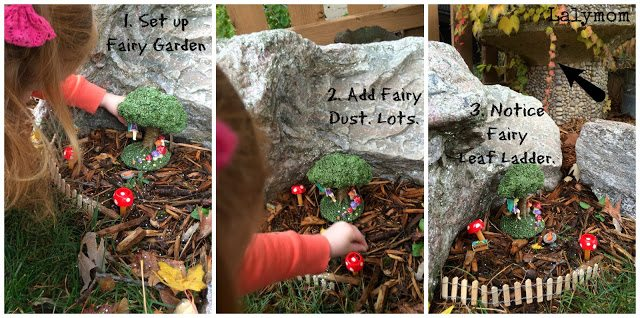 Fairy Garden Ket Set Up from Walmart and CraftProjectIdeas.com #Shop from Lalymom