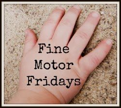 Fine Motor Fridays Collaborative Series from Lalymom