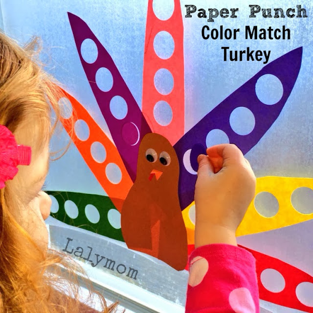 Thanksgiving Themed Fine Motor Skills Activity for Kids from Lalymom