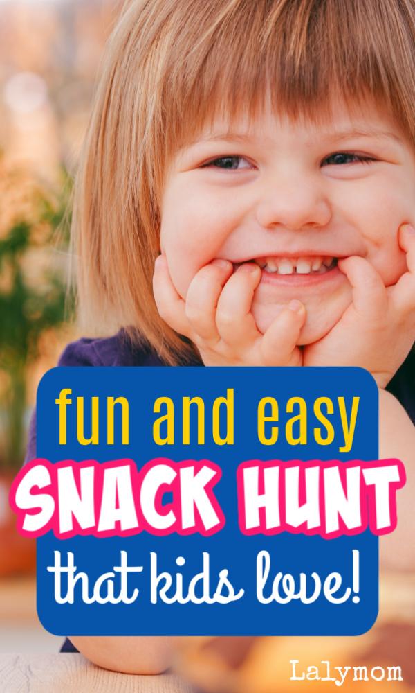 We're going on a snack hunt! super simple fine motor activity for snack time fun! #finemotor #finemotorskills #toddler #preschool #kids #funforkids