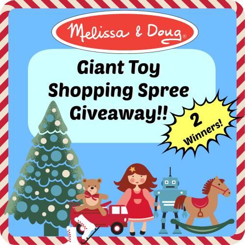 Melissa & Doug Toy Shopping Spree Giveaway