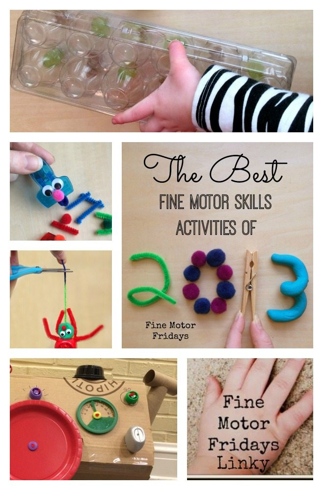 Best Fine Motor Skills Activities for kids from 2013 from Lalymom