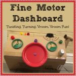 Best Kids Activities of 2013 from Lalymom: Fine Motor Dashboard