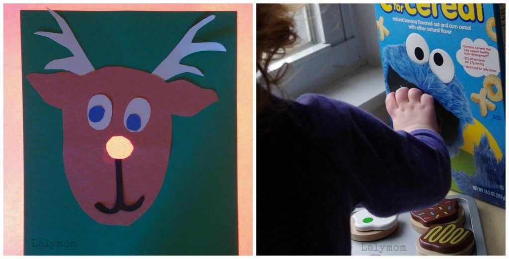 Rudolph Fine Motor Game from Lalymom