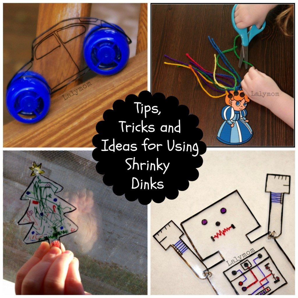 Tips Tricks and Ideas for Using Shrinky Dinks from Lalymom