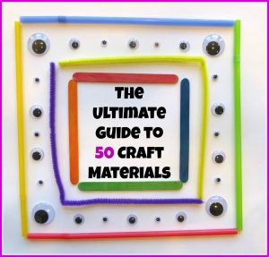 Ultimate Guide to 50 Craft Materials Series from Craftulate