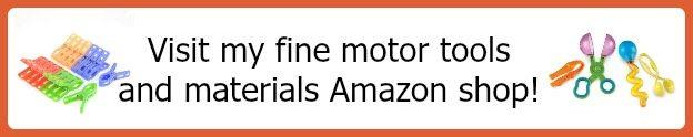 Amazon Shop for Fine Motor Materials