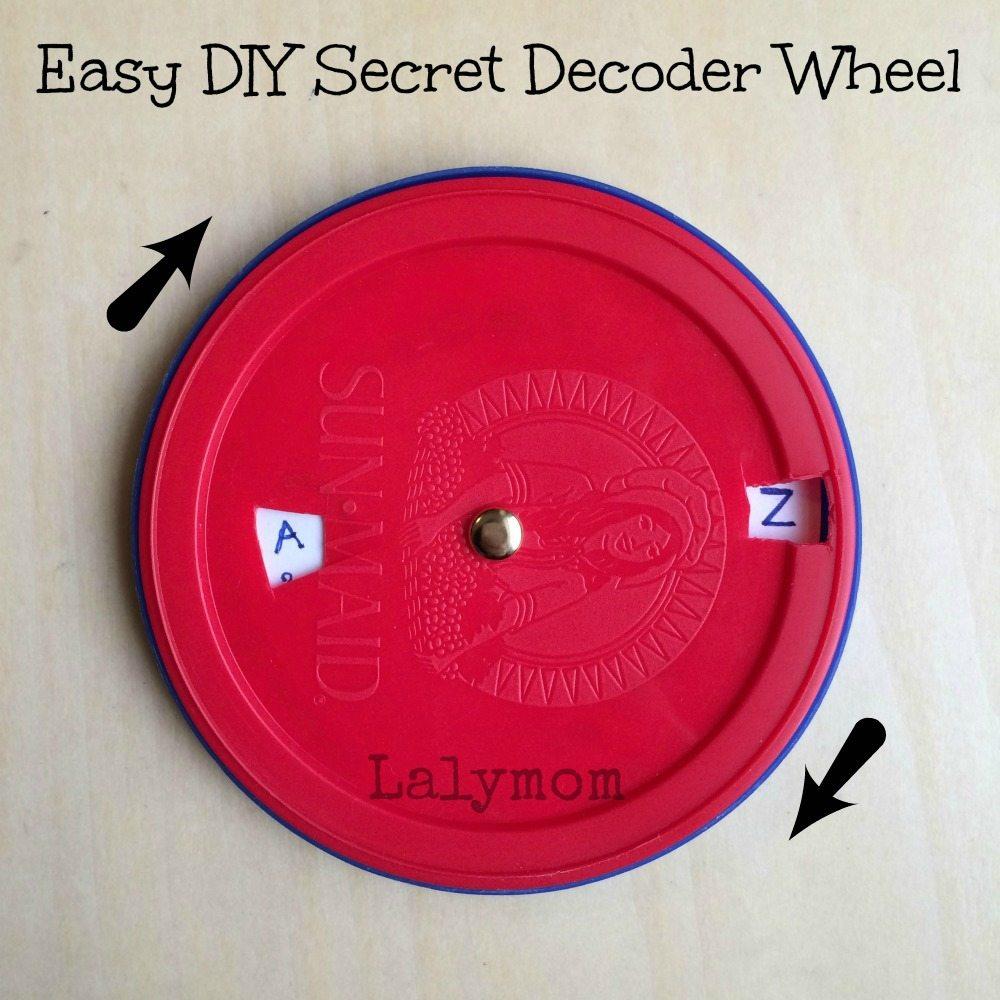 Secret Decoder Wheel from Lalymom
