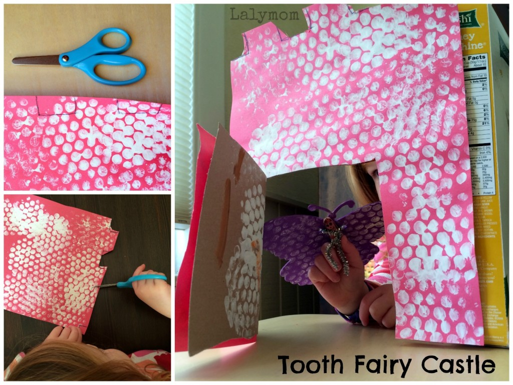 Tooth Fairy Castle Craft from lalymom